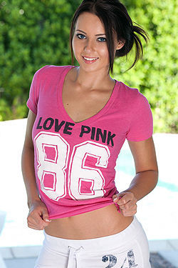 Natasha Belle Cute In Pink