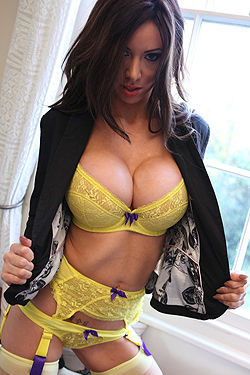 Adele Yellow Lingerie