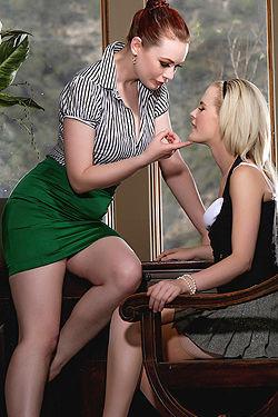 Catie Parker With Justine Joli