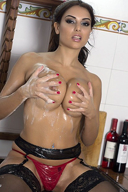 Charlotte Springer Washing Up
