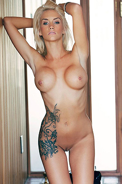 Taylor Seinturier Hot Tattoed Blonde