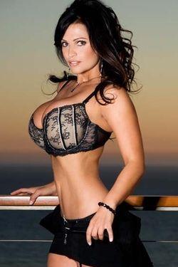 Busty Denise Milani