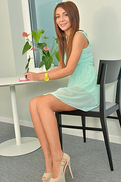 Lingerie Girl Alexis Brill