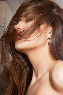 Sexy Brunette Lilian A