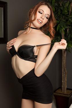 Gorgeous Ginger Playboy Babe Caitlin Mcswain