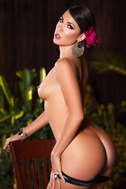 Gia Ramey-Gay Sexy Playboy Model
