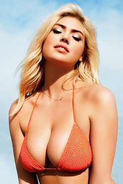Famous Kate Upton Topless And Braless! Fuck Yeah!