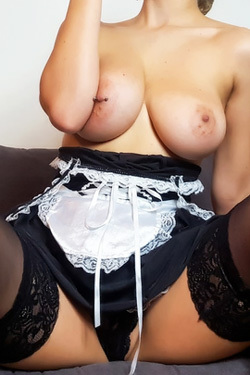 Hot Maid Stripping Down